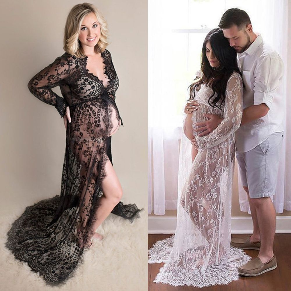 pregnant women wedding dresses photo - 1