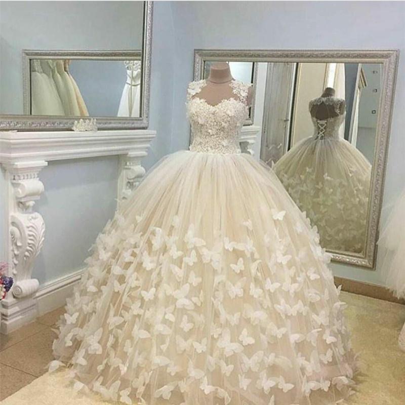 princess ball gowns wedding dresses photo - 1