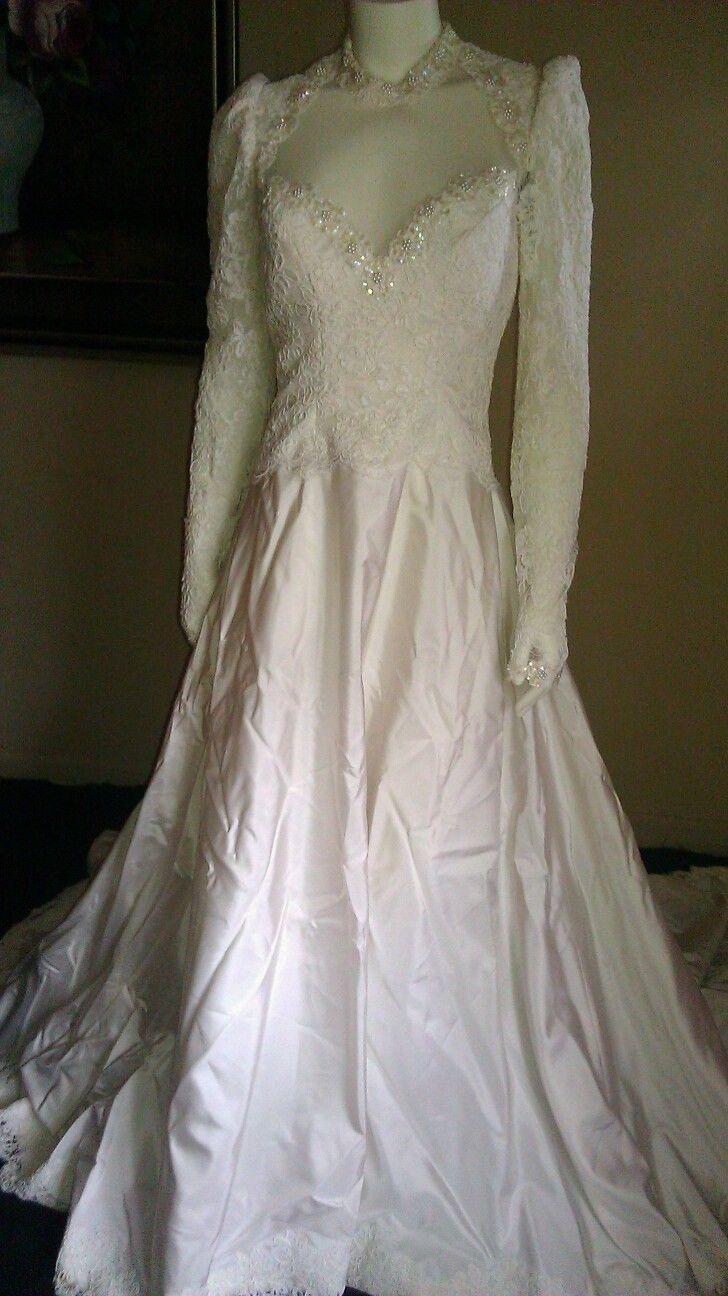 priscilla of boston vintage wedding dresses photo - 1