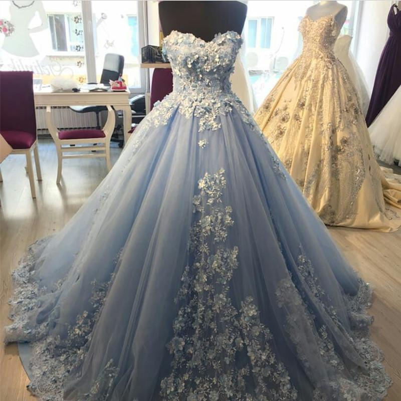 purple and silver wedding dresses photo - 1