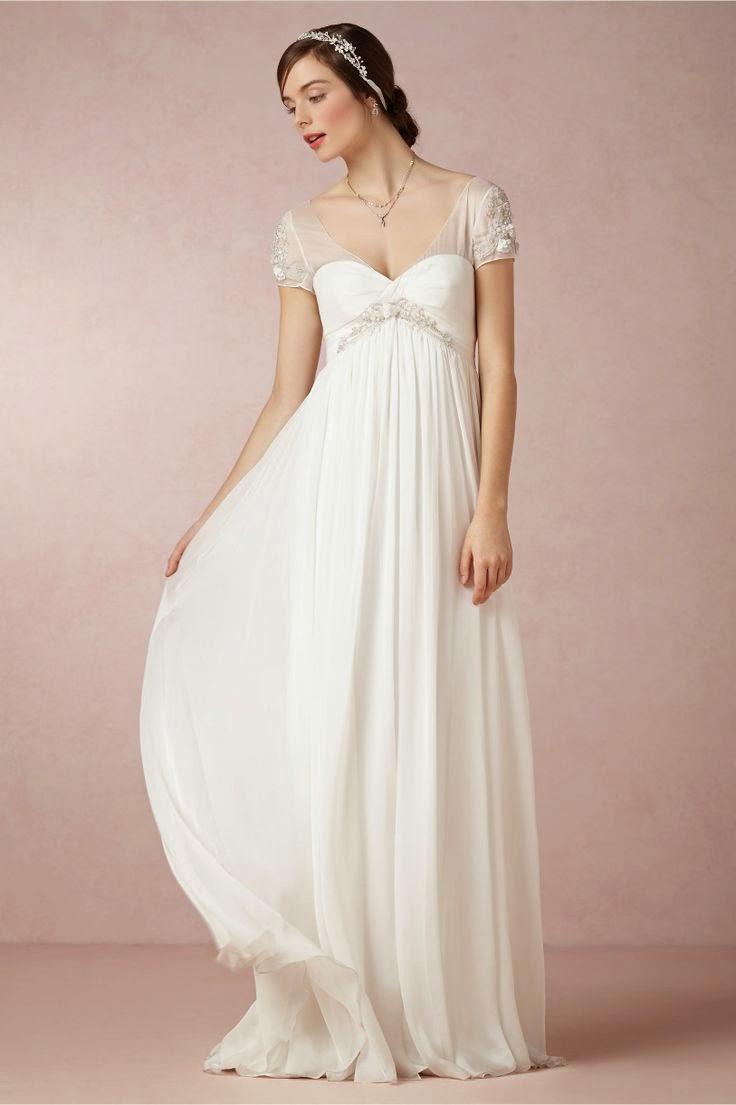 regency style wedding dresses photo - 1