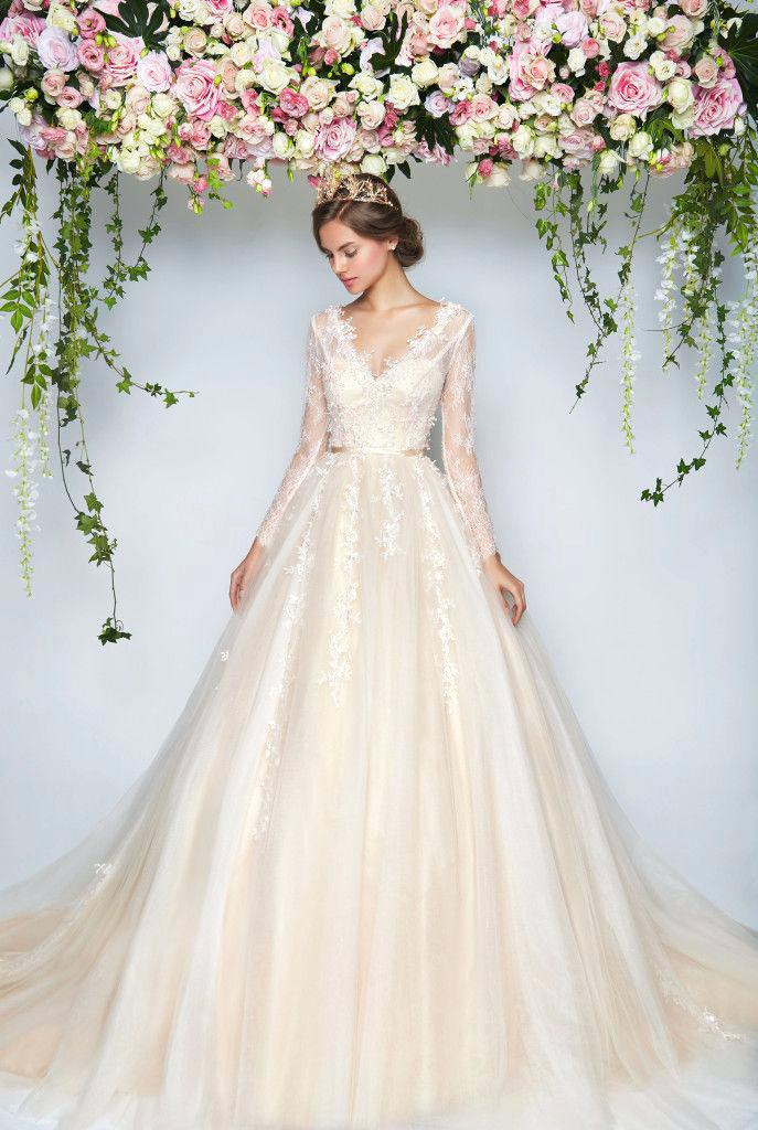 rental designer wedding dresses photo - 1