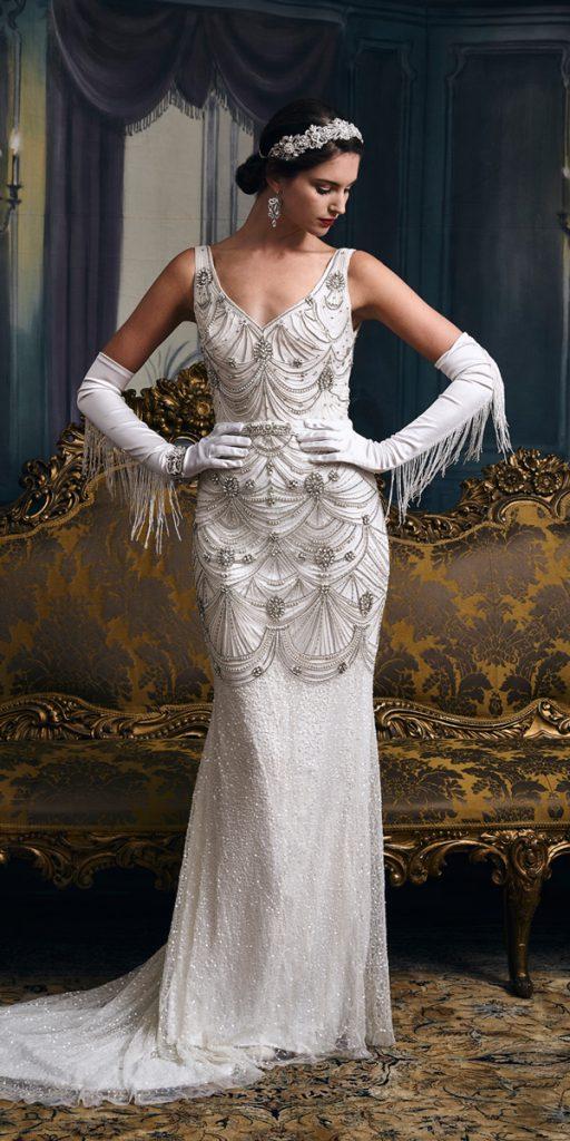 roaring 20s wedding dresses photo - 1