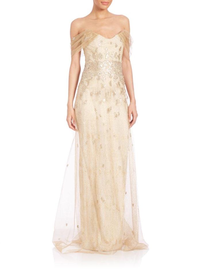 saks fifth avenue wedding dresses photo - 1