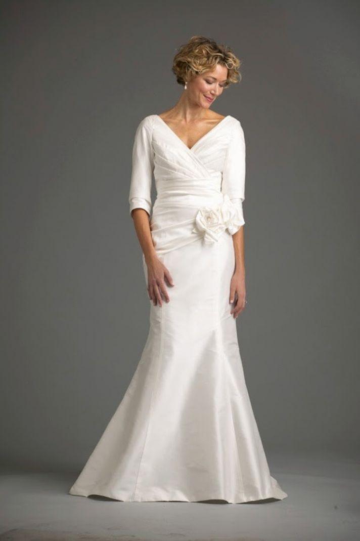 second wedding dresses over 50 photo - 1