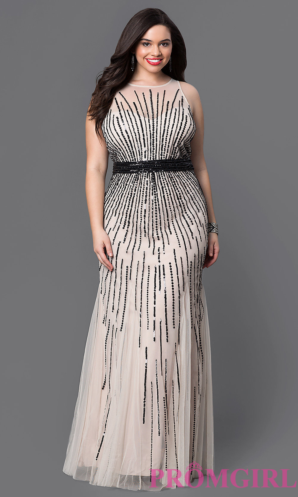 semi formal plus size dresses for a wedding photo - 1