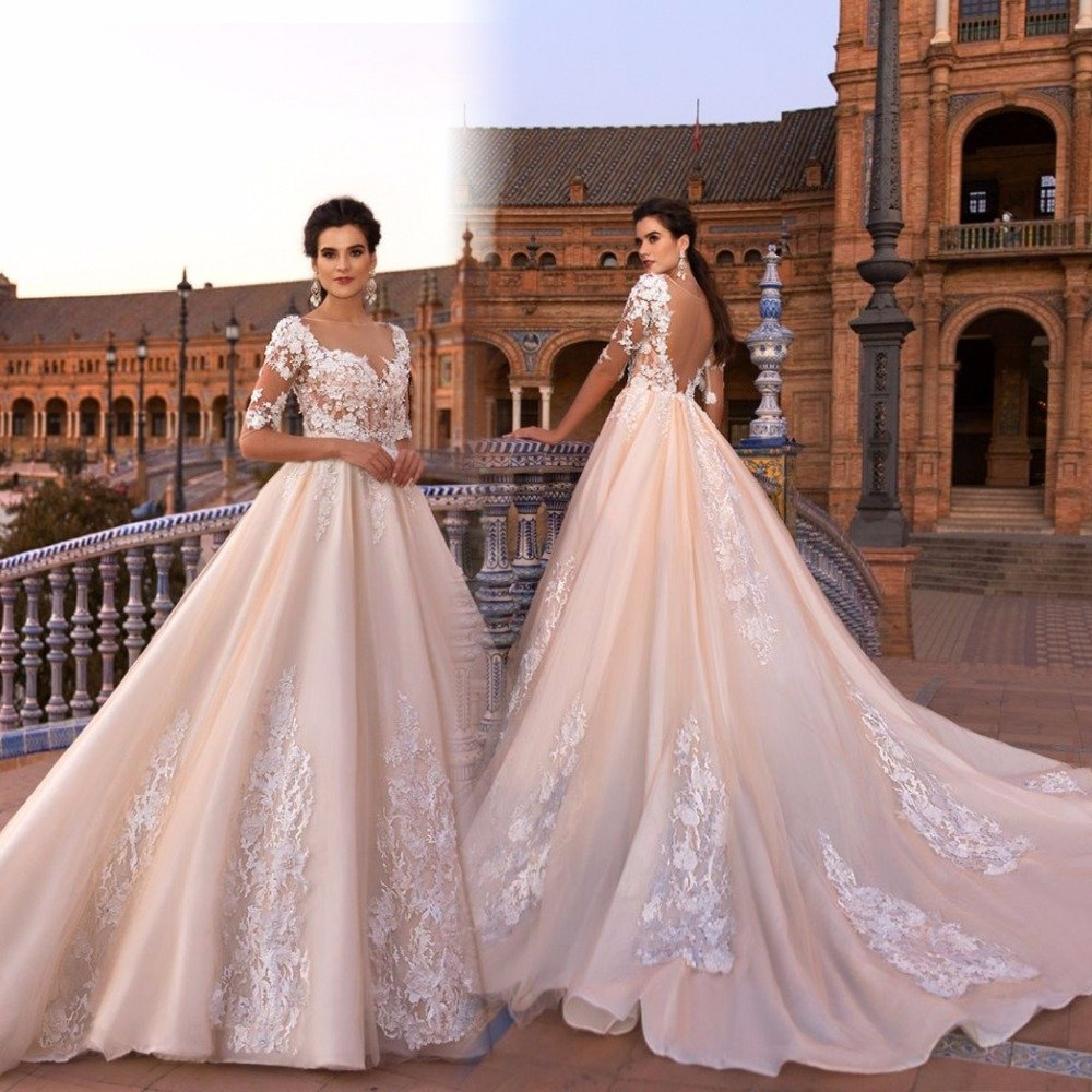 sexy cheap wedding dresses photo - 1