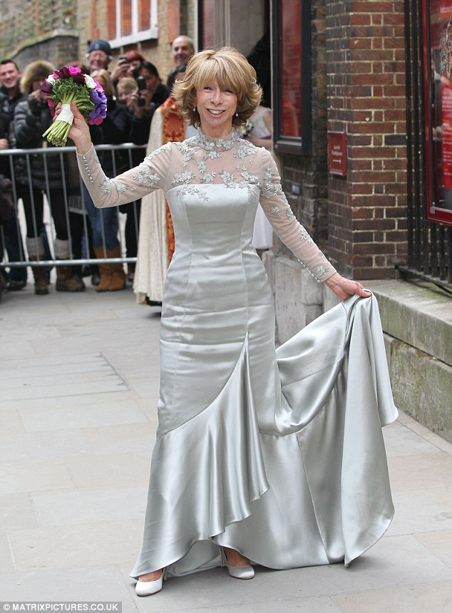 silver wedding anniversary dresses photo - 1