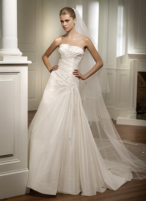 simplicity wedding dresses patterns photo - 1