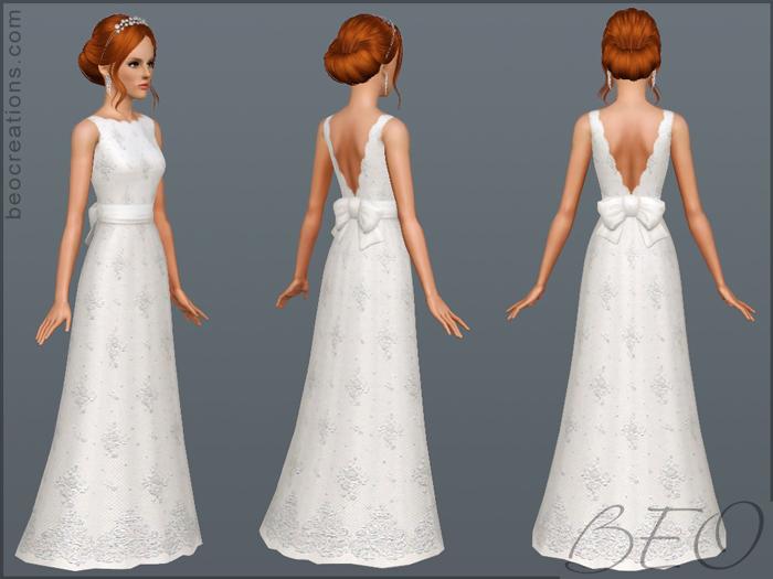 sims 3 wedding dresses photo - 1