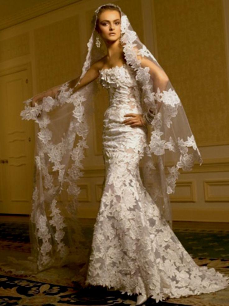 spanish style wedding dresses photo - 1