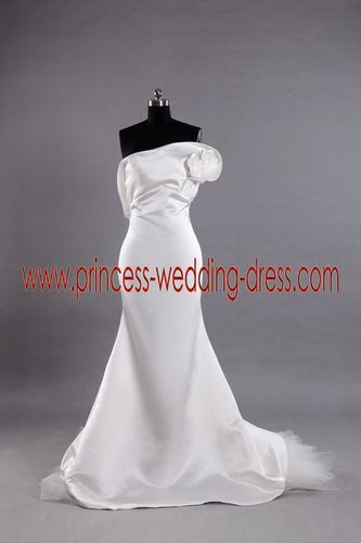 strapless mermaid wedding dresses photo - 1