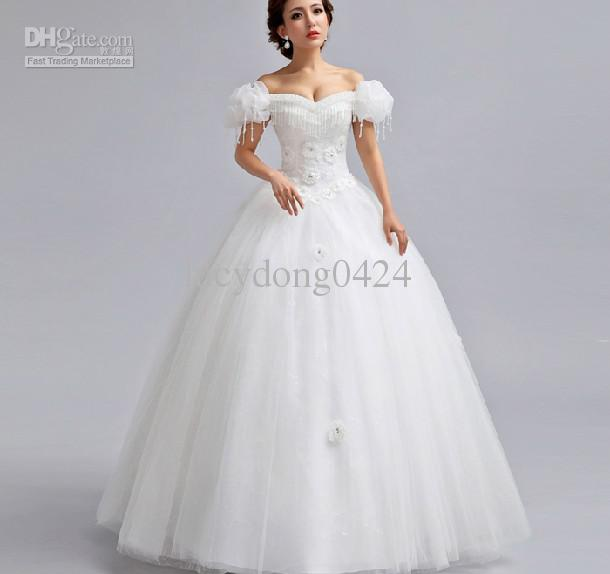 strapless princess wedding dresses photo - 1