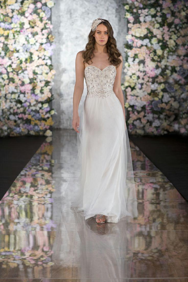 strapless wedding dresses photo - 1