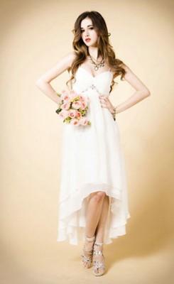strapped wedding dresses photo - 1