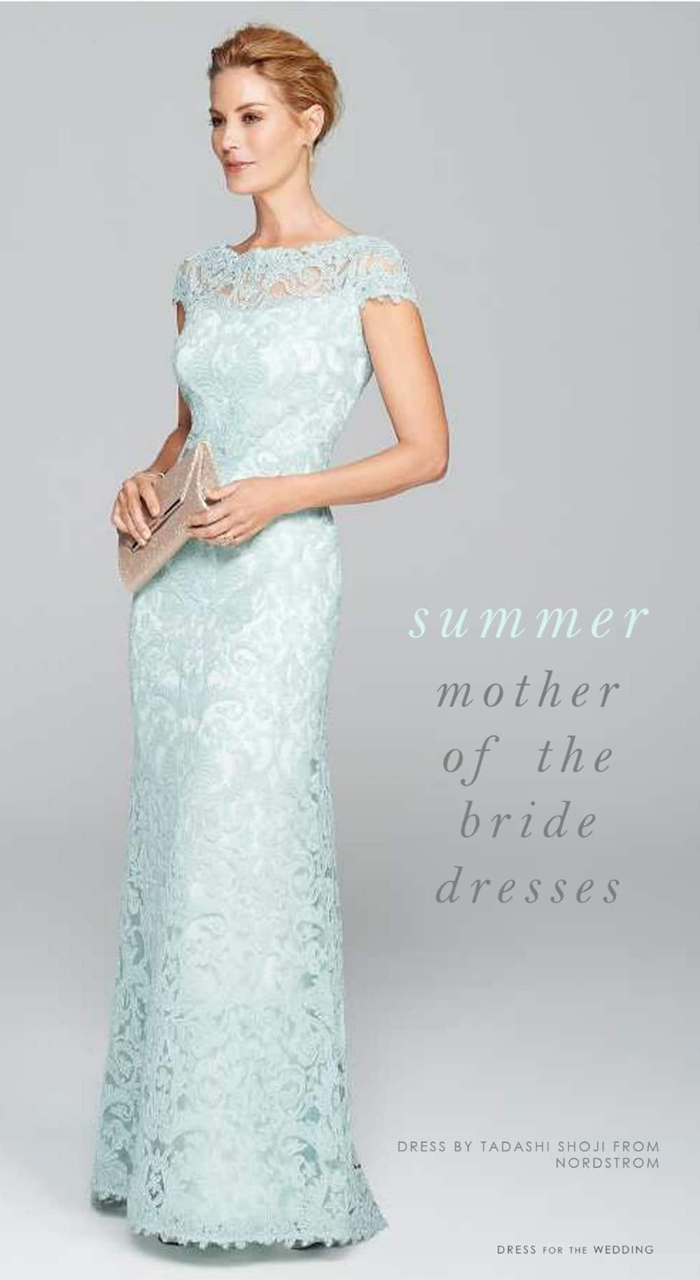 summer wedding mother of the bride dresses photo - 1