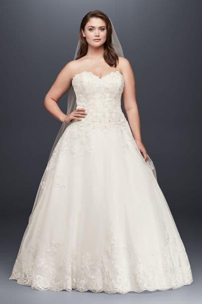 tea length colored wedding dresses photo - 1