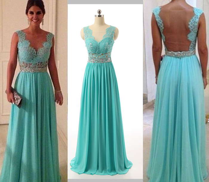 turquoise dresses for wedding guests photo - 1