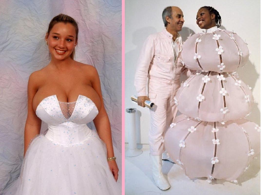 ugliest wedding dresses ever photo - 1