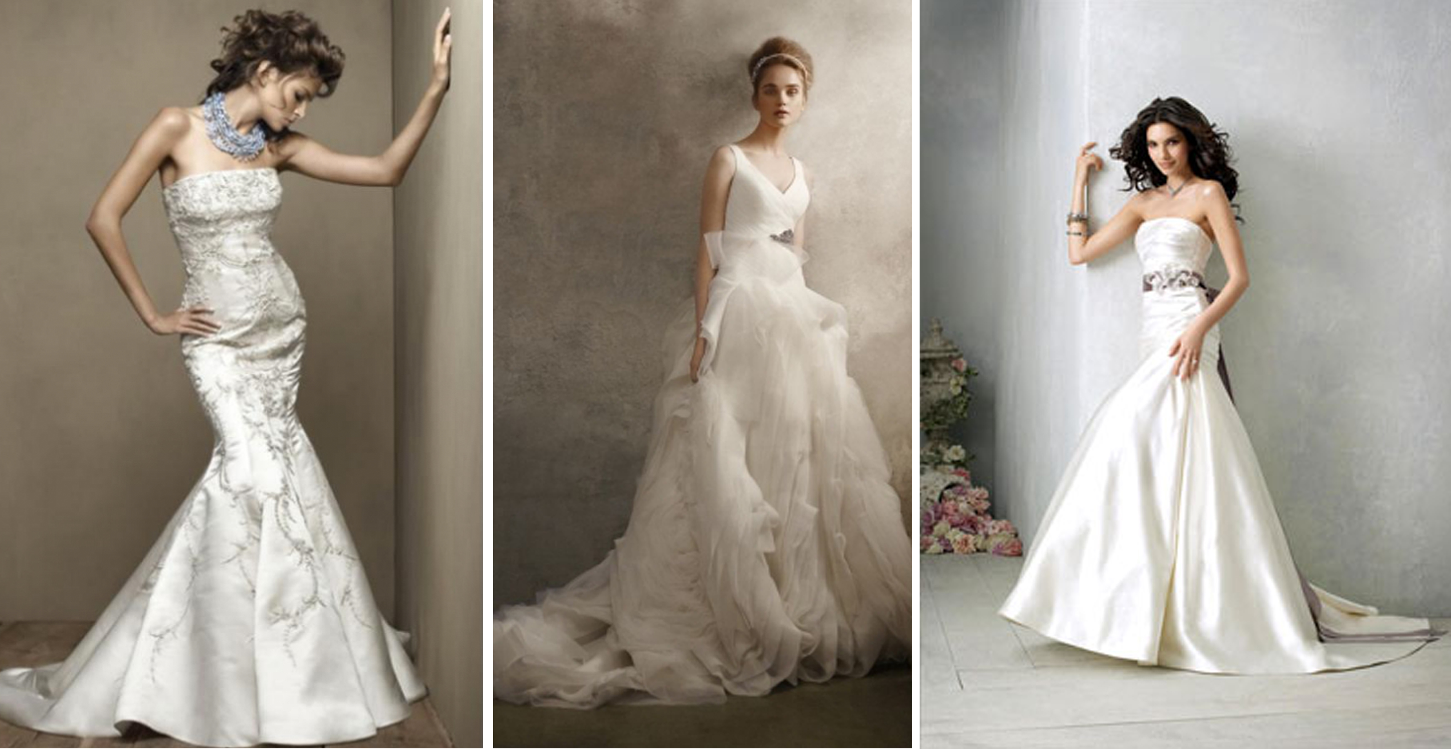 used designer wedding dresses photo - 1