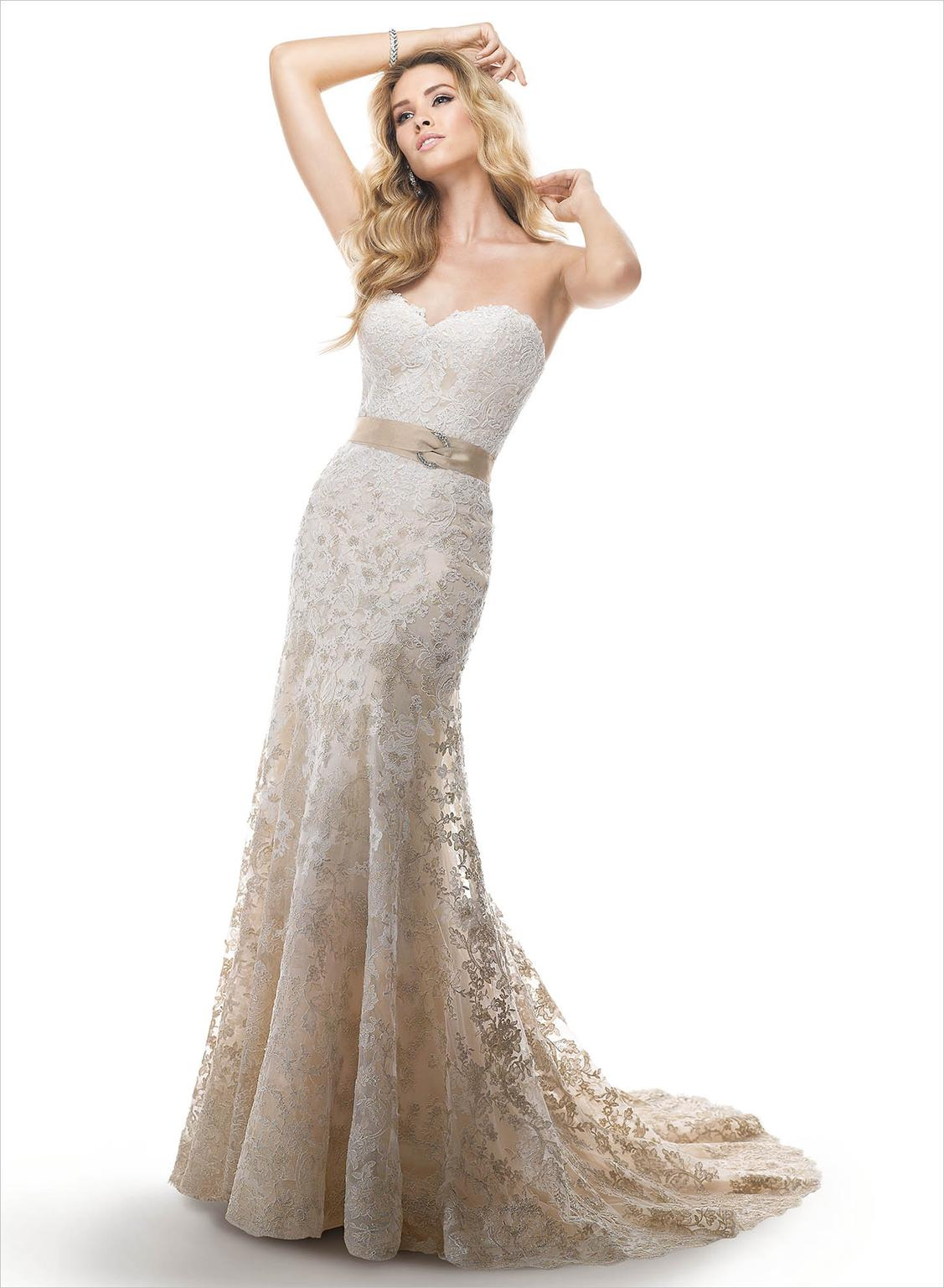 used maggie sottero wedding dresses photo - 1