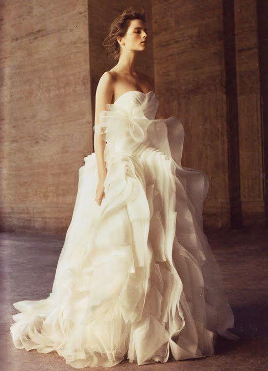 vera wang dresses wedding photo - 1