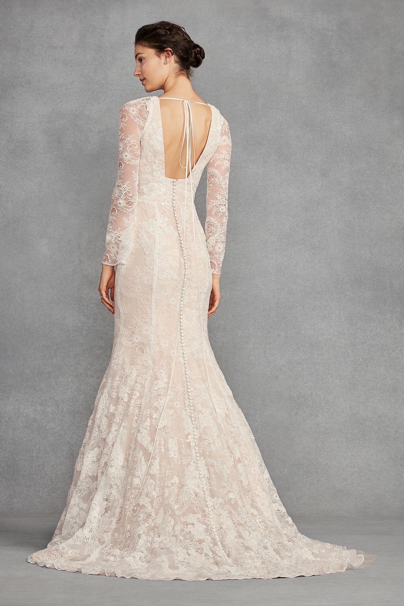 vera wang wedding dresses with sleeves photo - 1
