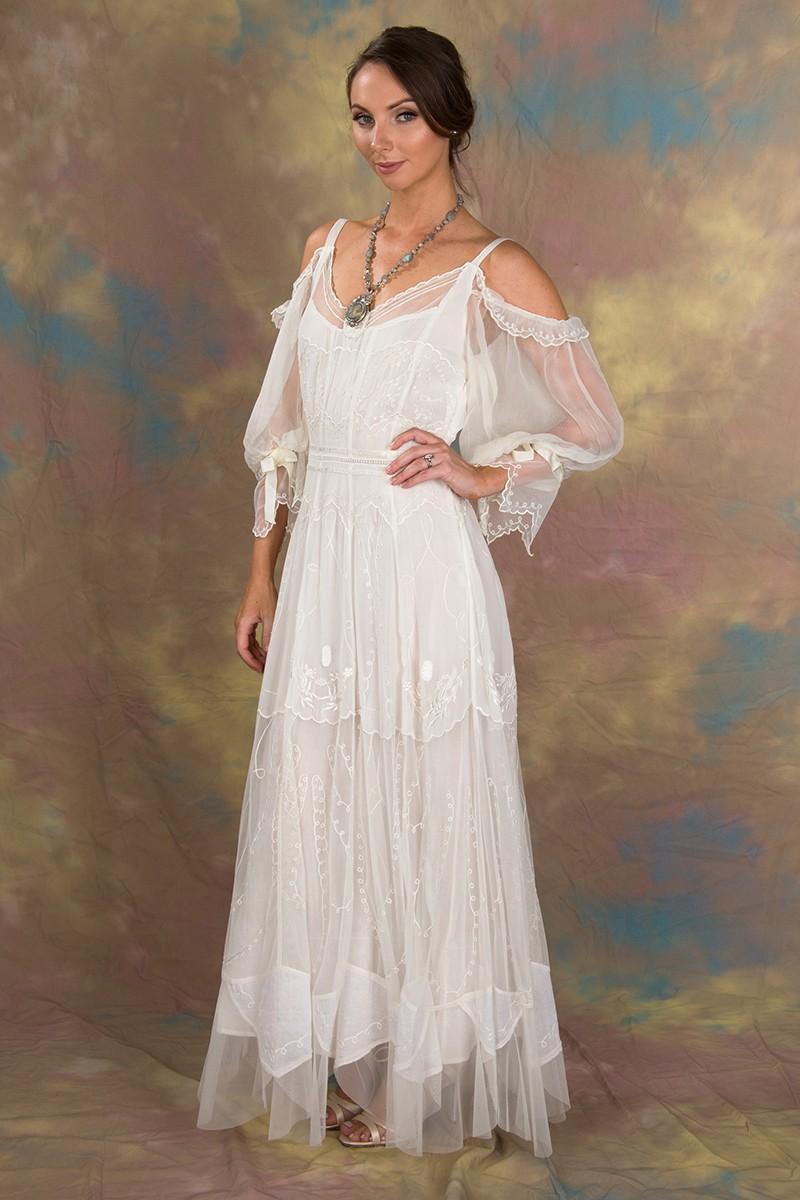 vintage inspired lace wedding dresses photo - 1