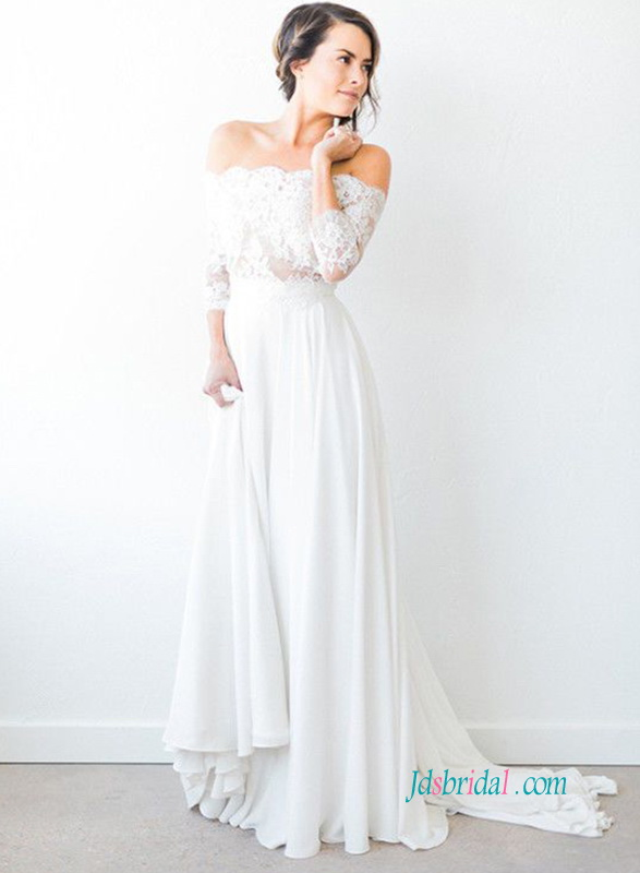 vintage short wedding dresses photo - 1