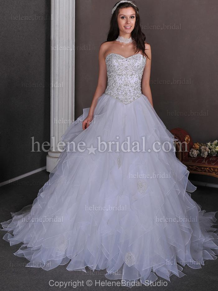 wedding dresses ball gown princess photo - 1