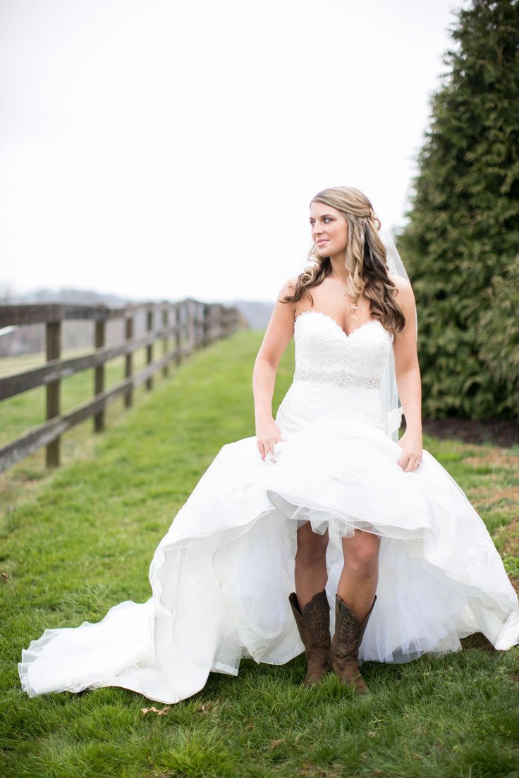wedding dresses country western style photo - 1