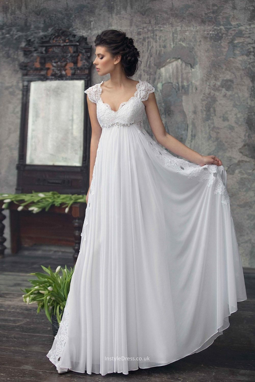wedding dresses empire photo - 1