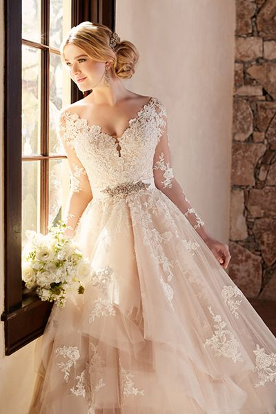 wedding dresses fall photo - 1