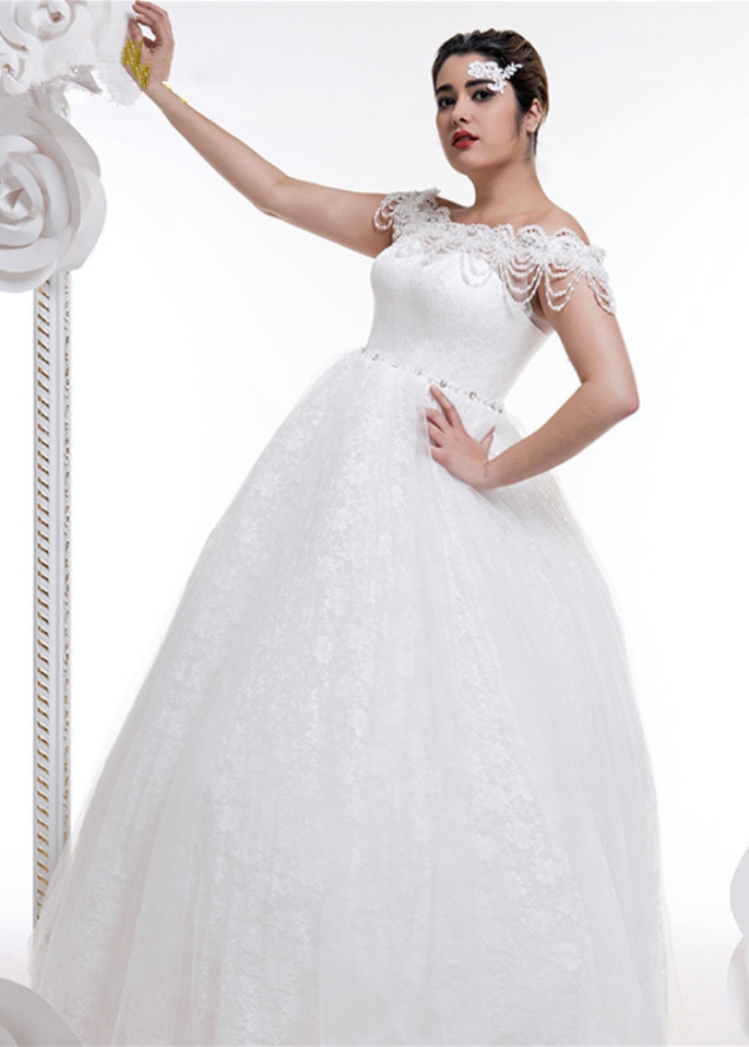 wedding dresses for cheap under 100 photo - 1