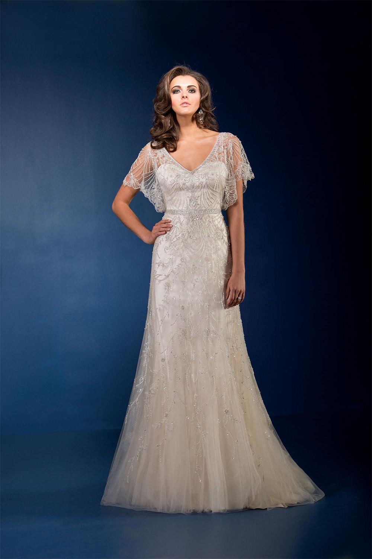 wedding dresses for older brides photo - 1