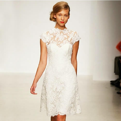 wedding dresses for over 60 photo - 1