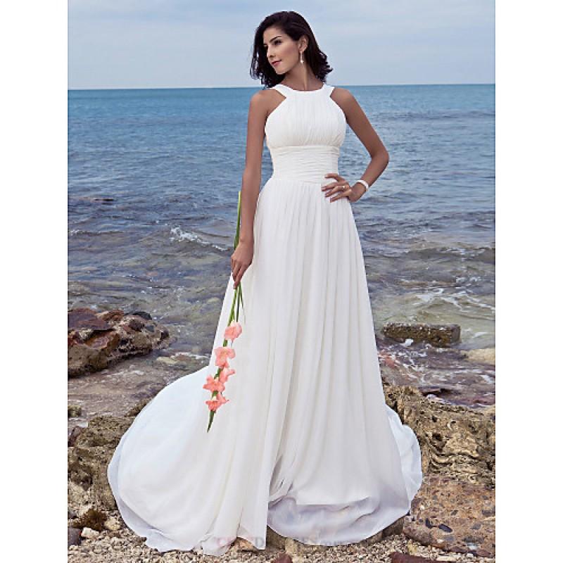 wedding dresses for plus sizes cheap photo - 1