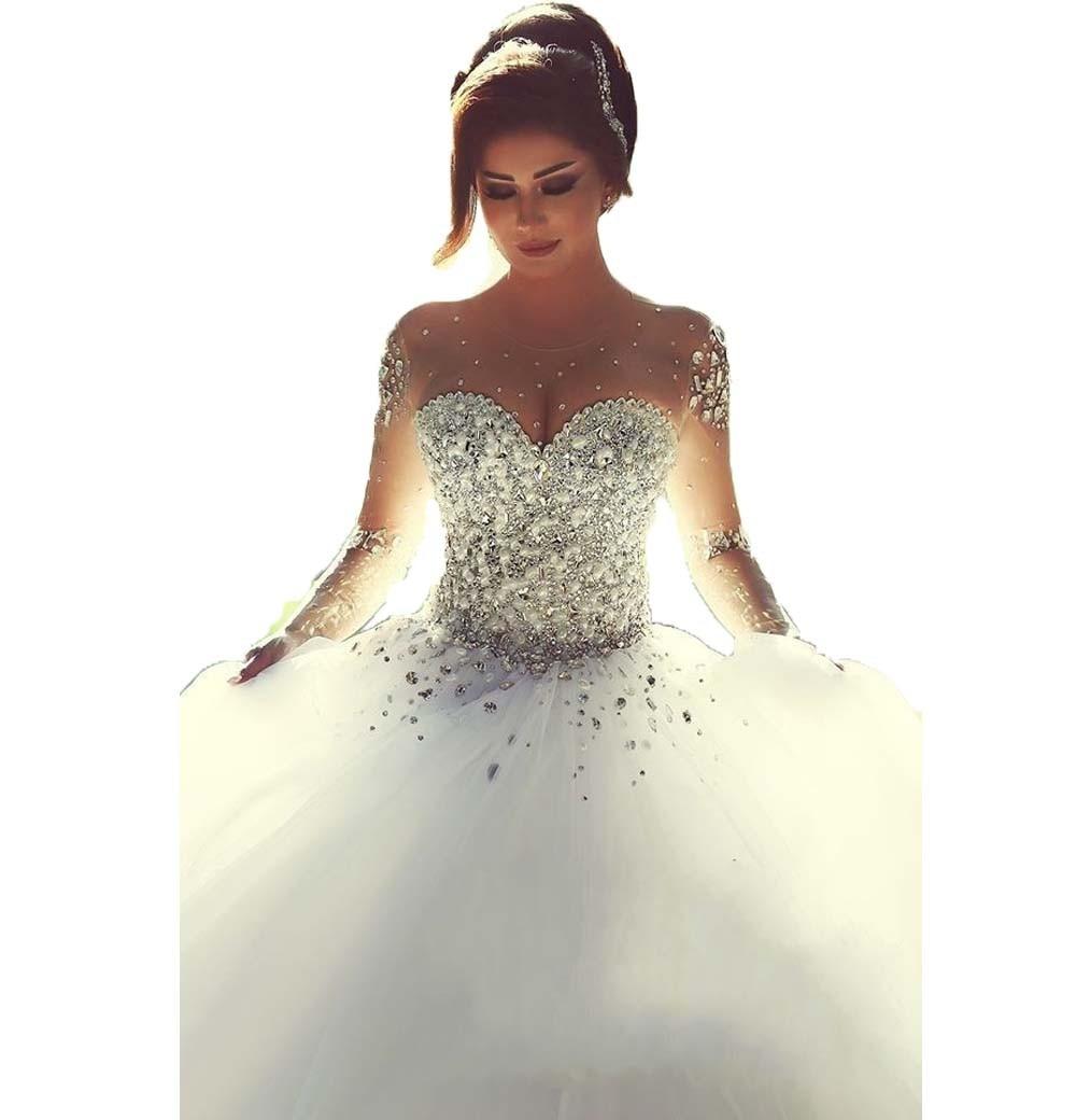 wedding dresses for skinny brides photo - 1