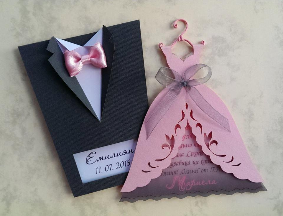 wedding dresses invitations photo - 1