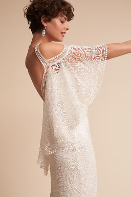 wedding dresses lace sleeves photo - 1