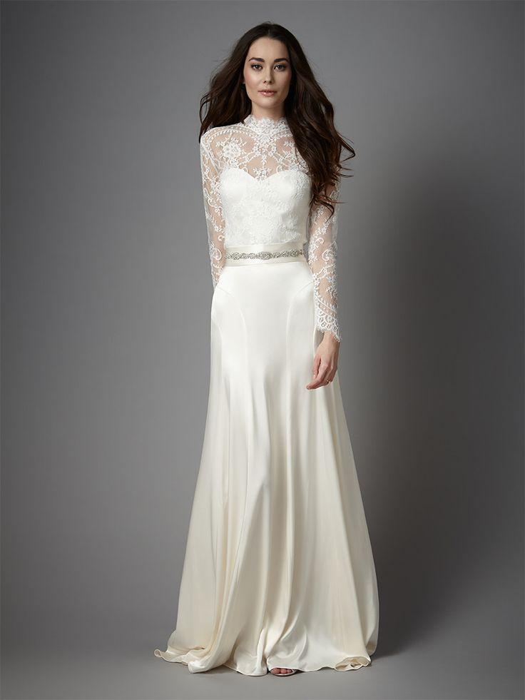 wedding dresses long sleeve lace photo - 1
