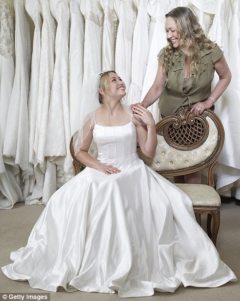 wedding dresses over 50 photo - 1