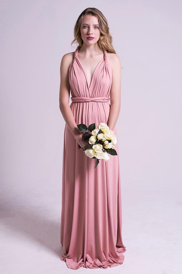 wedding dresses pink photo - 1