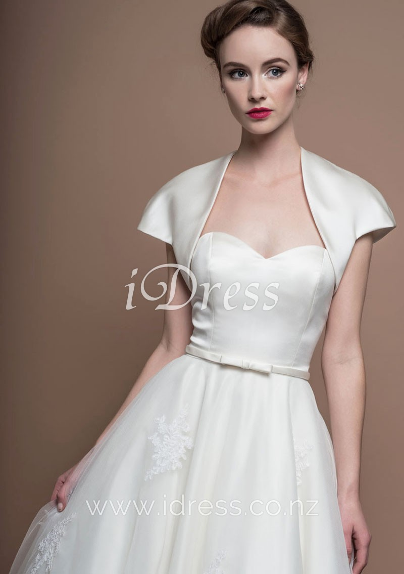 wedding dresses strapless sweetheart photo - 1