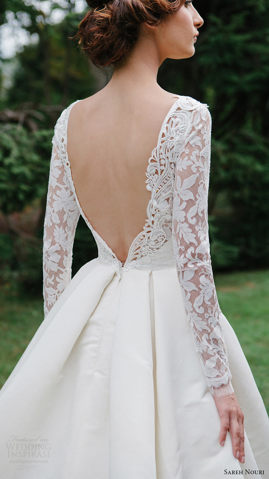wedding dresses that cover arms photo - 1