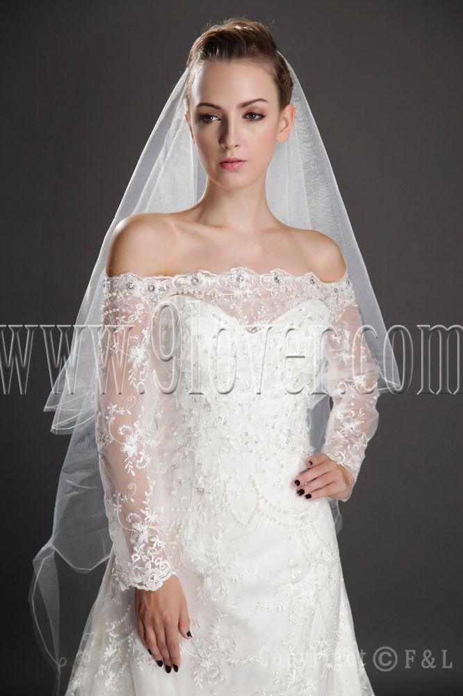 wedding dresses veil photo - 1