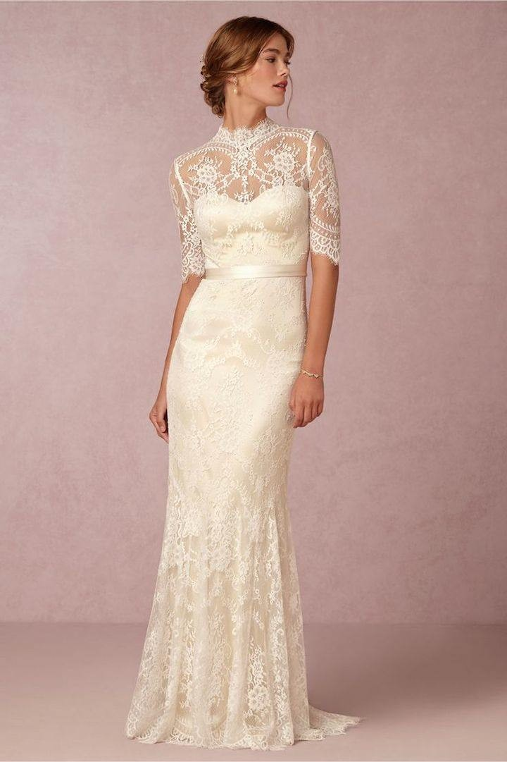 wedding dresses vintage lace photo - 1