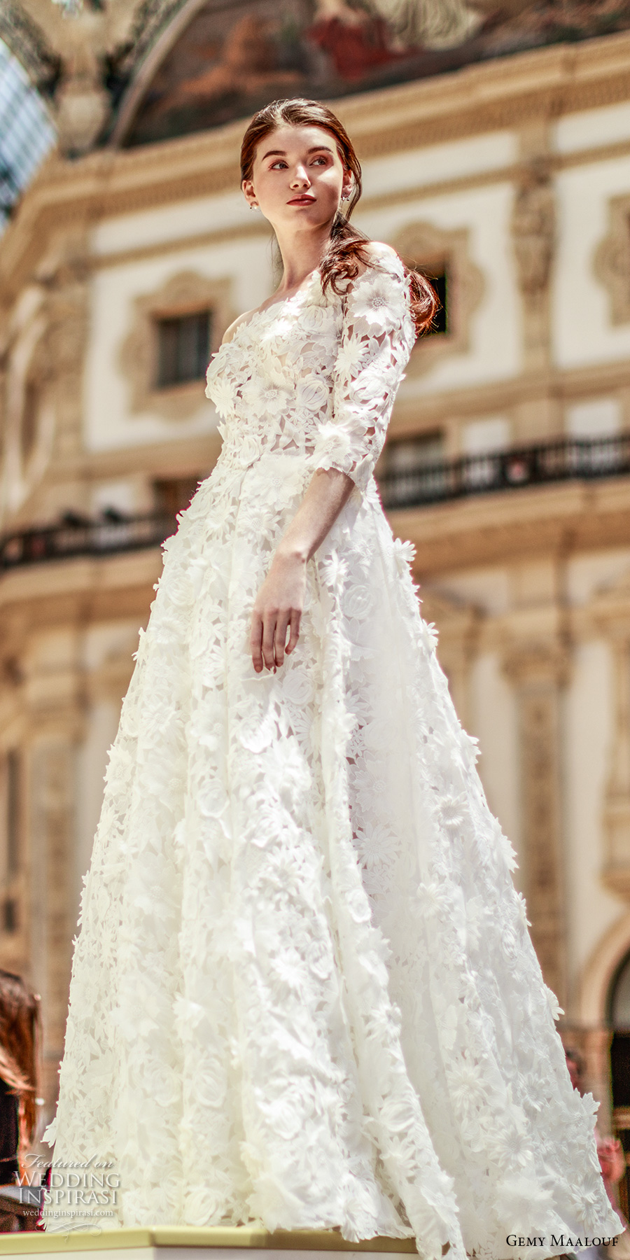 wedding dresses w sleeves photo - 1