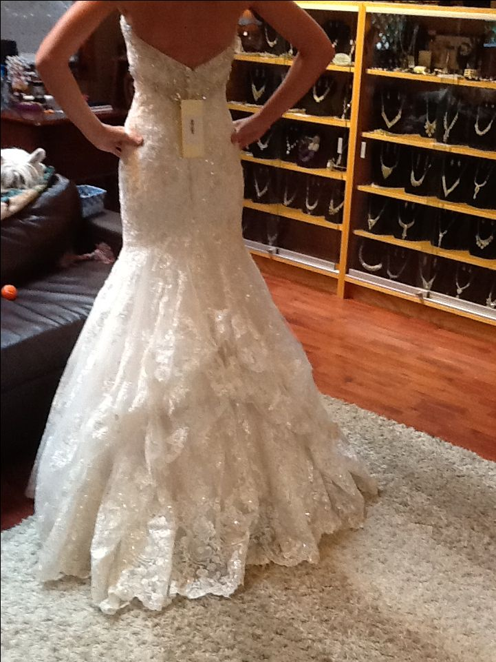 wedding dresses with bustles photo - 1