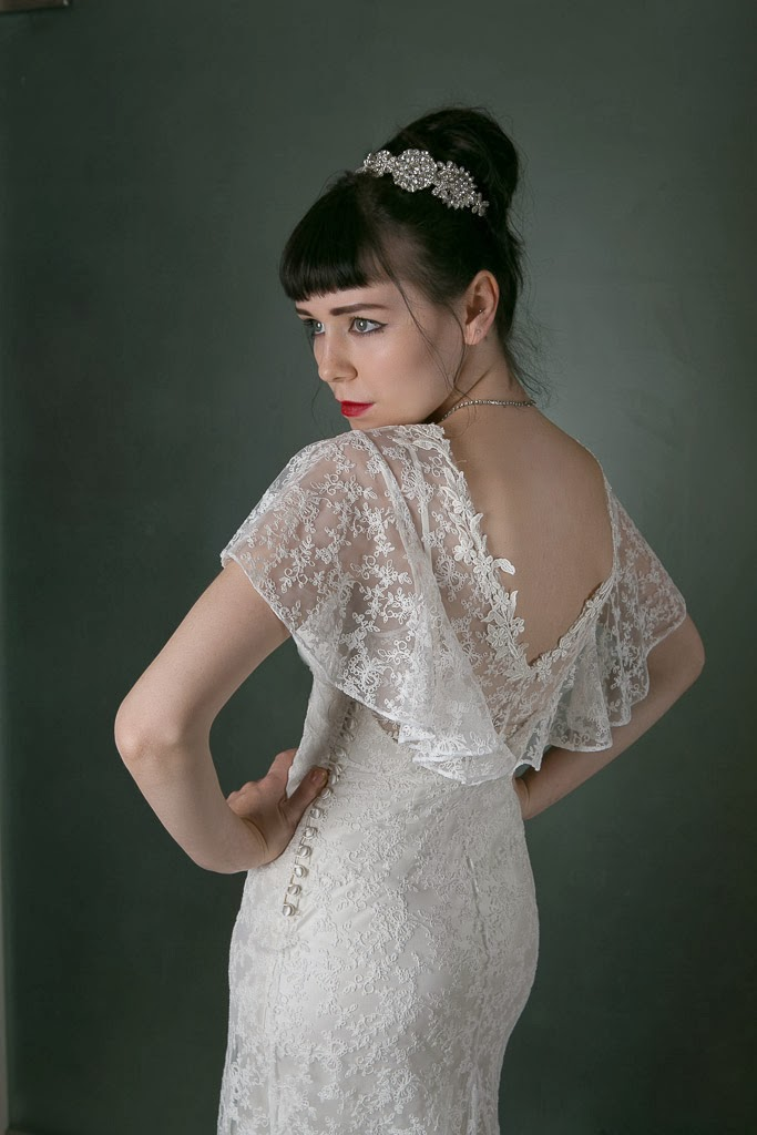wedding dresses with capes photo - 1